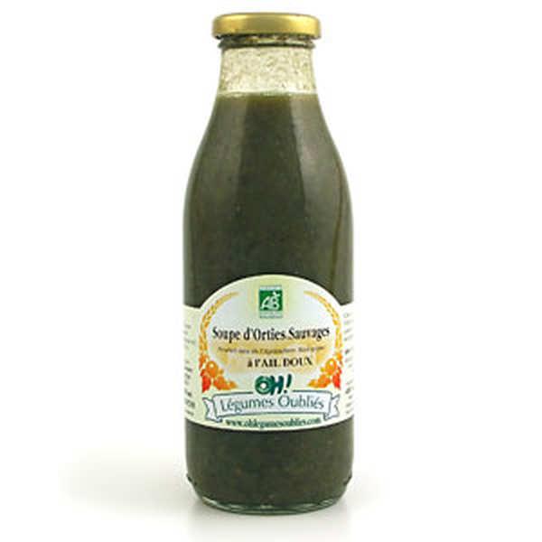 Soupe d 39 orties sauvages aux pommes du verger bio oh l gumes oubli s - Utilisation du purin d ortie ...