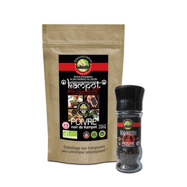 Organic Kampot Black Pepper