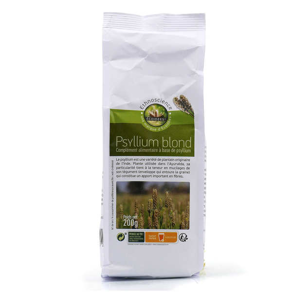Organic Blond Powdered Psyllium