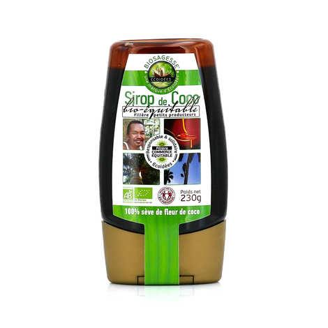 Biosagesse - Sirop de fleur de coco bio