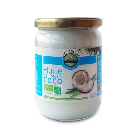 Biosagesse - Huile de noix de coco bio