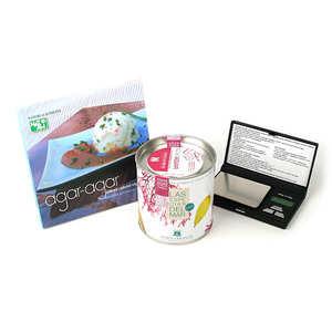 - Cuisinez avec l'agar-agar - kit complet