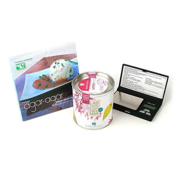 Cuisinez avec l'agar-agar - kit complet