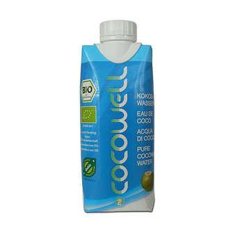 Cocowell - Eau de coco bio - 100% eau de coco