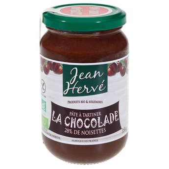 Jean Hervé - La chocolade - organic chocolate spread