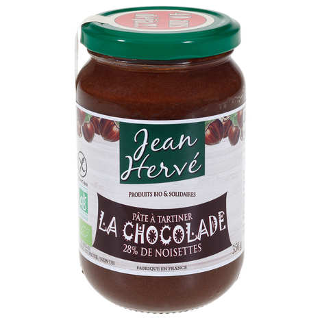 Jean Hervé - La chocolade - pâte à tartiner bio