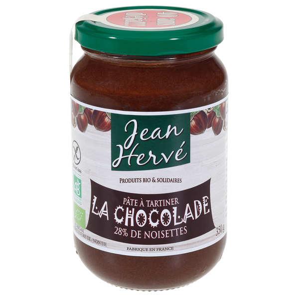 La chocolade - pâte à tartiner bio - le pot de 350g
