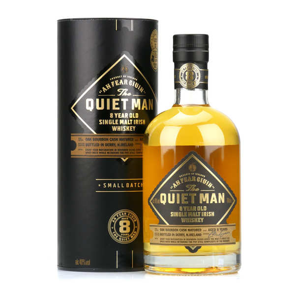 The Quiet Man Irish Whisky - Single Malt 40%