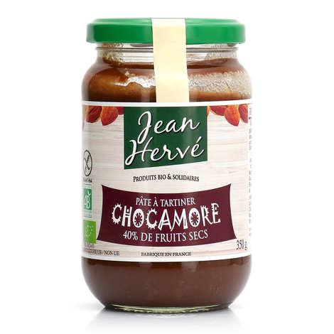 Jean Hervé - Chocamore - pâte à tartiner chocolat orange amande bio