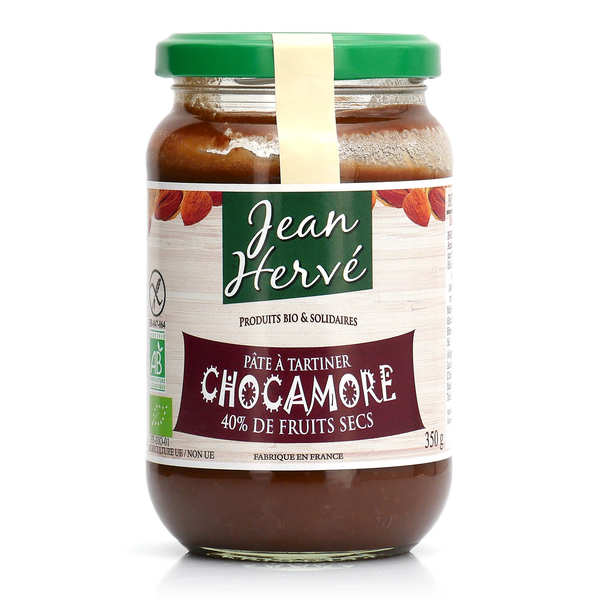 Chocamore - organic chocolate orange almond spread