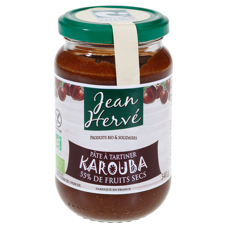 La pâtes à tartiner vegan artisanale Jean Hervé
