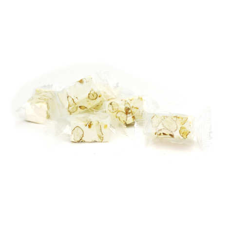 Nougat Silvain - White Nougat with Almonds and Pistachios