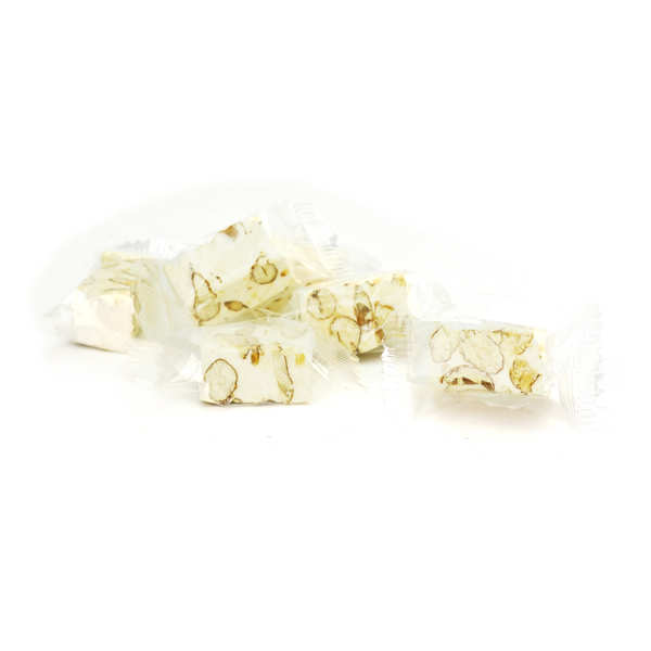White Nougat with Almonds and Pistachios