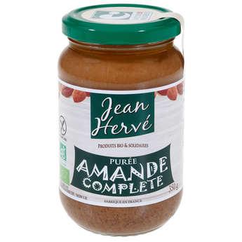 Jean Hervé - Organic whole almonds spread