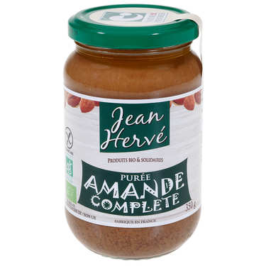 Organic whole almonds spread