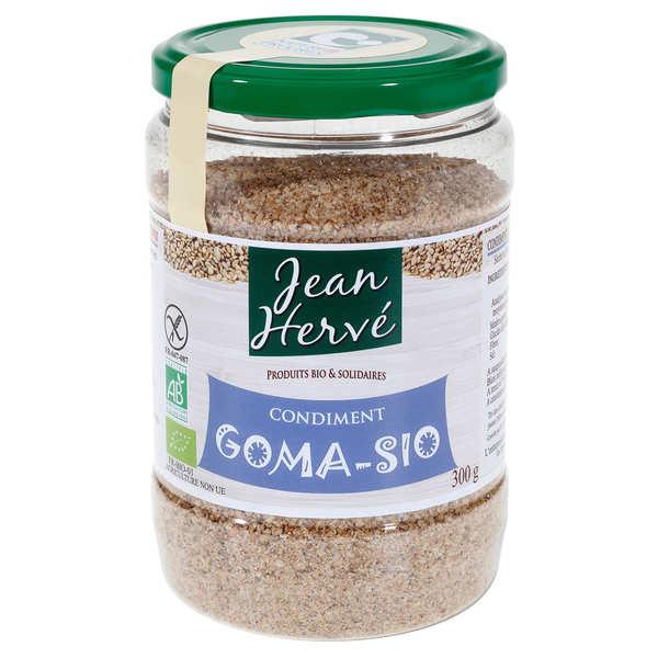 Organic goma-sio condiment