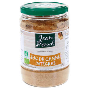 Jean Hervé - Sucanat - whole organic sugar cane juice
