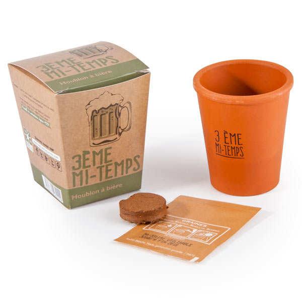"""Pot de culture """"3ème mi-temps"""" : graines de houblon"""