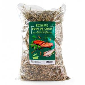 Radis et Capucine - Foin de Crau AOP bio pour fumage (cuisine au foin)