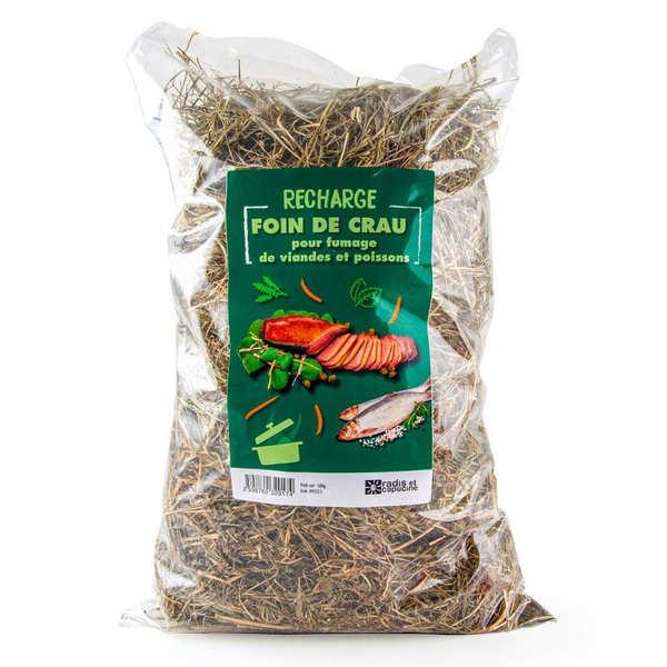 Foin de Crau AOP bio pour fumage (cuisine au foin)