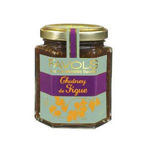 Favols - Chutney de figue - Condiment sucré salé