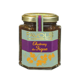 Favols - Chutney de figue - Condiment sucré salé