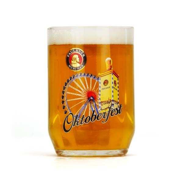 Oktoberfest Paulaner Glass