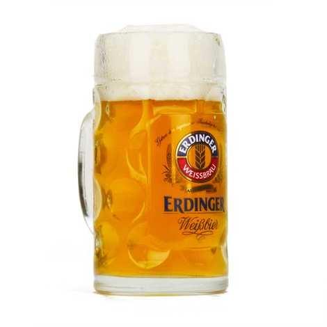 Erdinger - Chope à bière Erdinger Weisbbräu 50cl