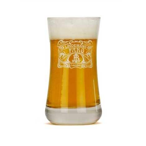 Brasserie Lindemans - Verre à bière Lindemans Faro