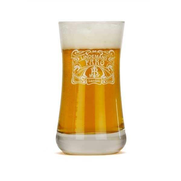 Verre à bière Lindemans Faro