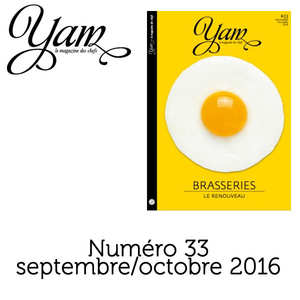 Yannick Alléno Magazine - French magazine about cuisine - YAM n°33