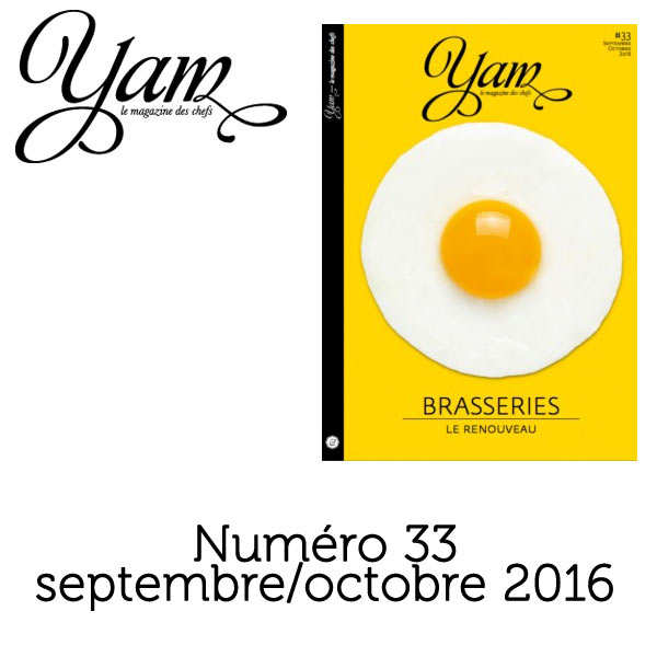 French magazine about cuisine - YAM n°33