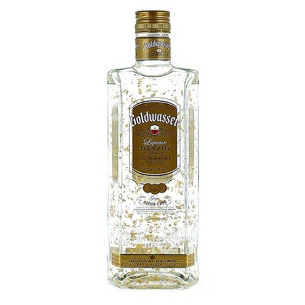 Liqueur Danziger Goldwasser aux paillettes d'or 40°