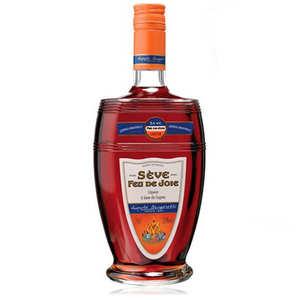 Distillerie Leopold Brugerolles - Liqueur Sève Feu de Joie 32°