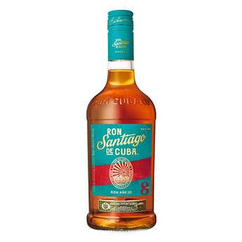 Santiago de Cuba - Rum AÑEJO- Santiago de Cuba 38%