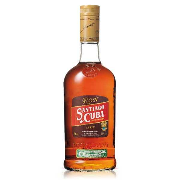 Rum AÑEJO- Santiago de Cuba 38%