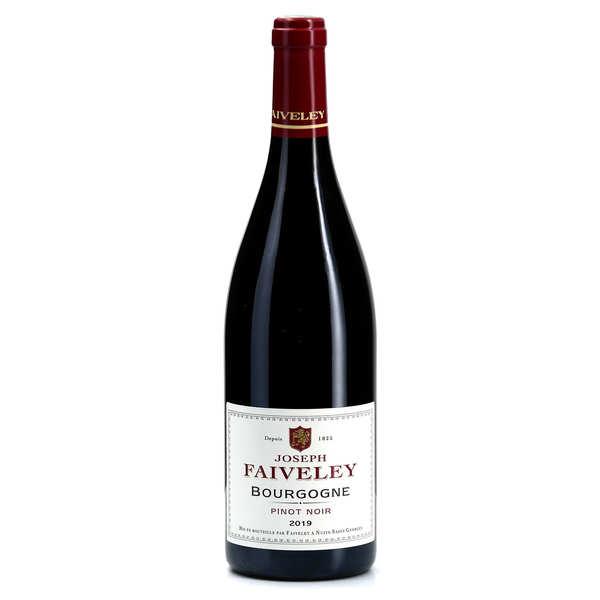 Bourgogne pinot noir faiveley - 2014 - bouteille 75cl