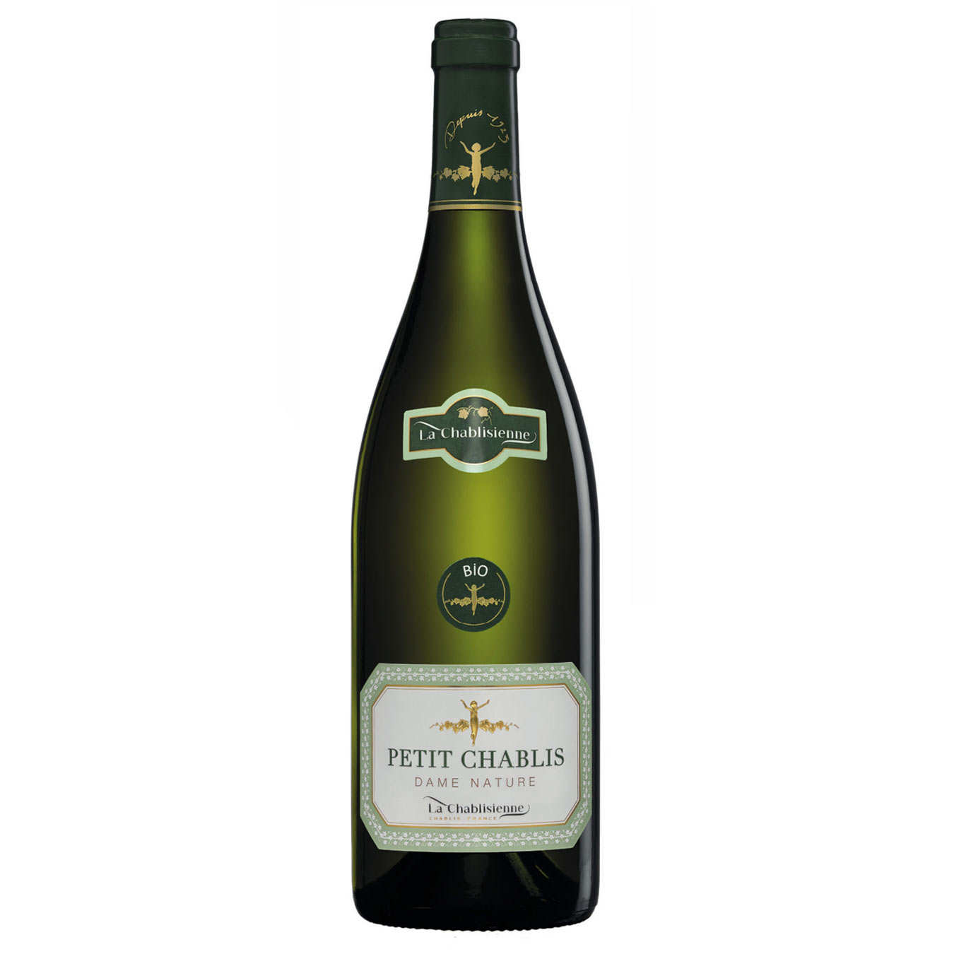 Chablis Dame Nature 2013 - Organic White Wine