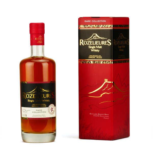 Whisky rozelieures single malt de lorraine - collection rare 40% - bouteille 20cl