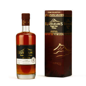 Whisky G-Rozelieures - Rozelieures single Malt from France - Smoked Collection 46%
