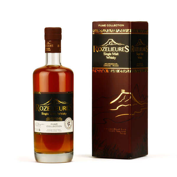 Whisky Rozelieures single malt de Lorraine - Collection Fumé 46%