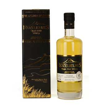 Whisky G-Rozelieures - Rozelieures single Malt from France - Peaty Collection 46%