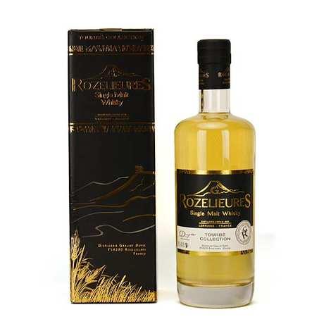 Whisky G-Rozelieures - Whisky Rozelieures single malt de Lorraine - Collection Tourbé 46%