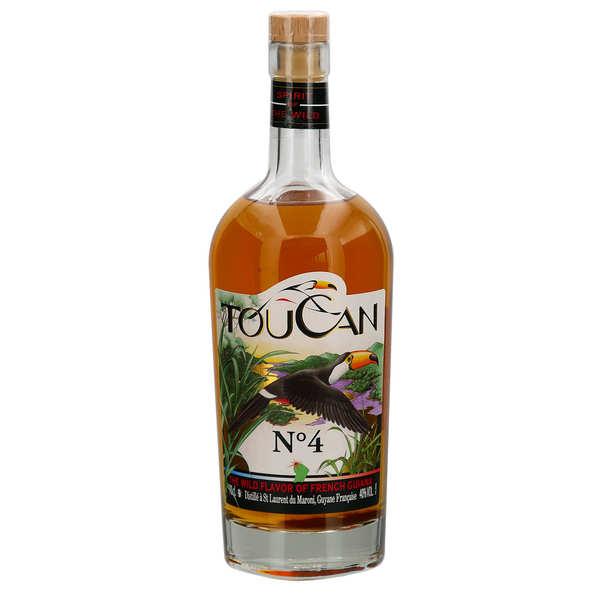 Toucan Boco N°2 - Rhum épicé de Guyane 40%