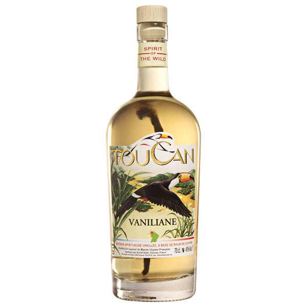 Toucan Vaniliane - Rhum épicé à la vanille de Guyane 45%