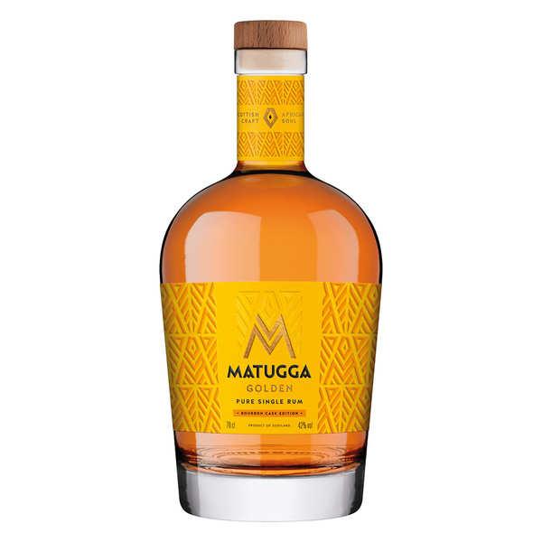 Matugga Golden Rum - Rhum d'Ouganda 42%