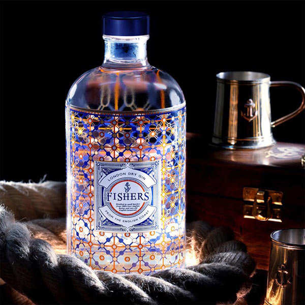 London Dry Gin - Fishers Gin 44%
