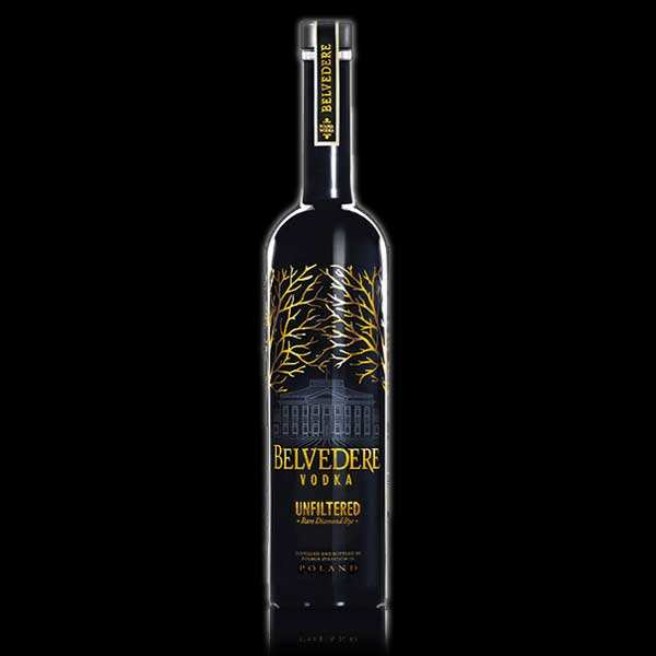 Belvedere vodka unfiltered polonaise 40%