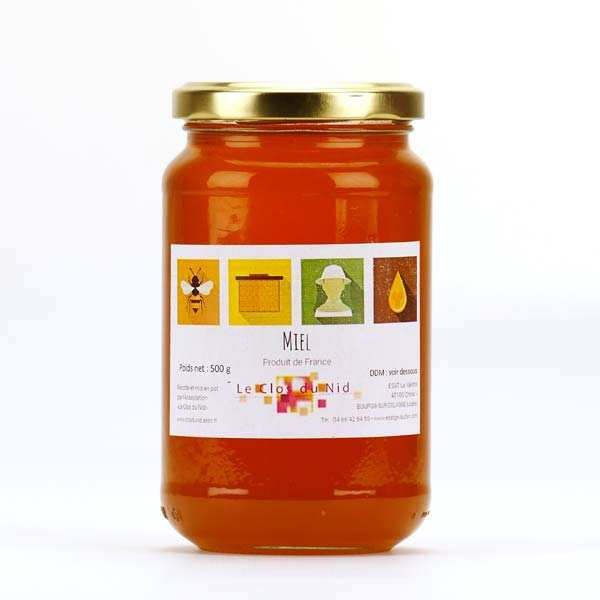 Mountain Honey from Lozère - Solidarity Honey