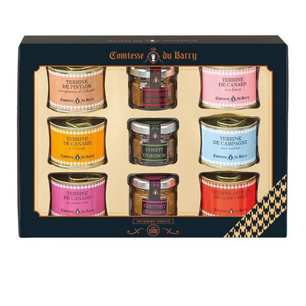 Coffret terrines et chutneys - Comtesse du Barry